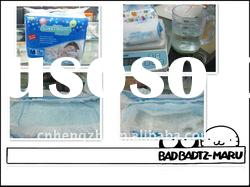 Cheapest baby diaper imported pulp