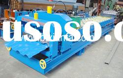 Color steel roof panel roll forming machine XF40-256-768