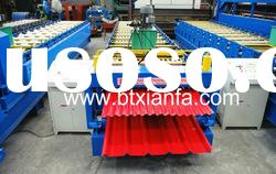 Double layer color steel tile roll forming machine XF1025/1036