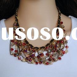Fashion Costume Jewelry Chunky Necklace