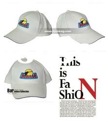 Fashion white cotton head cap with low factory price