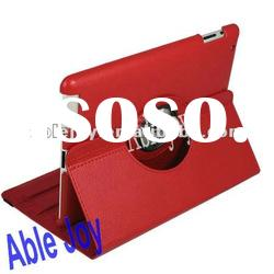 For ipad2 360 degree rotation leather case