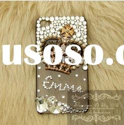 Handmade Crown Diamond Hard Case Cover For Samsung Galaxy S3 i9300