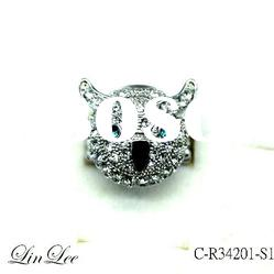 Hot Sell Fashion owl Rings jewelry