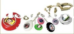 Hot Selling! Fashionable 1.1 inch keychain ABS mini digital photo frame for gift