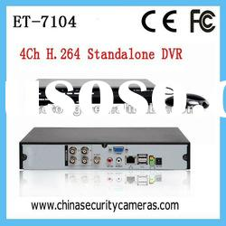 Hot sell!! 4ch wireless usb dvr support 3G phone view