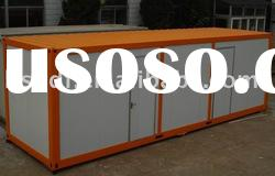 ISO9001:2008 certificated high quality nice design and comfortable container house