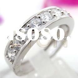 Low wholesale price factory direct sale costume fashion 925 sterling silver ring jewelry (R5747)
