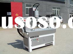 Mini Cylinder CNC router machine can process sofa leg, wood statue, etc