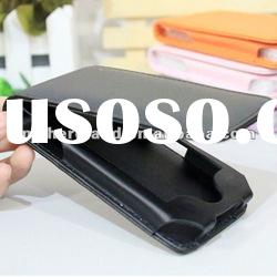 Mobile case for iPhone 4,Pure Black color