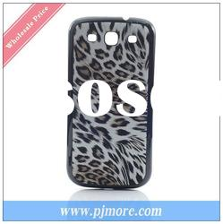NEW Arrival ! Hot Sale Wholesale Price Leather Back Cover For Samsung Galaxy S3 I9300