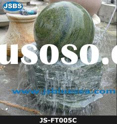 Natural Green Marble Ball Fountain