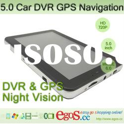 New Arrival Infrared Night Vision Car DVR Video Recorder With GPS Navigation