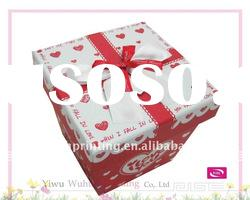 New Design Lovers Paper Delicate Gift Packaging Box