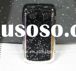 New!Plated Hard Back Case Cover for BlackBerry Bold 9700 9020 Black