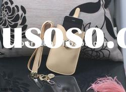 New design leather mobile phone bag