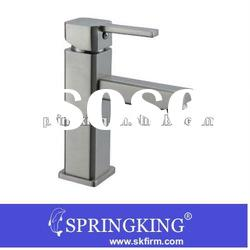 New hot sell square brushed water tap brass
