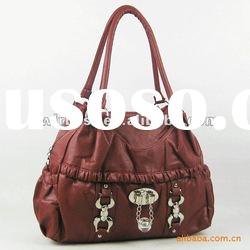 PU Leather used branded handbags made in China(MX266-2)