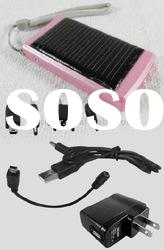 Portable Solar Charger with 4 LED