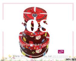 Pretty Drum Cardboard Packaging Gift Candy Box
