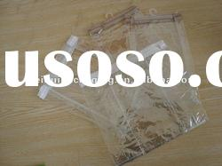 Reasonable price Customized clear pvc cosmetic bag