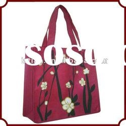 Recycle nonwoven shopping bag
