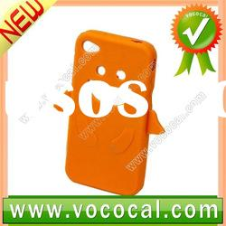 Soft Silicone Rubber Case for iPhone 4S 4GS