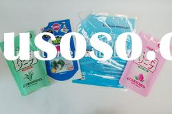 decorative soft plastic food packaging bags