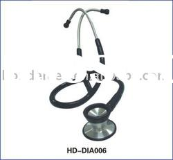 double diaphragm Stainless Steel Cardiology Stethoscope