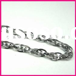 fashion flexible twist high quality stainless steel necklace womens jewelry wholesale