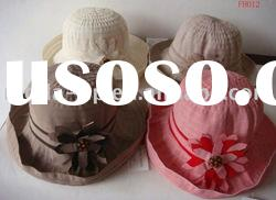 fashionable summer & wide brim straw hat