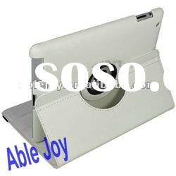 for ipad 2 360 degree rotation leather case