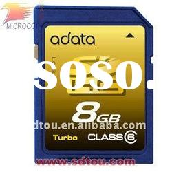 high quality 8GB memory sd card high speed 8gb sd cards