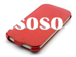 leather mobile phone case for Samsung galaxy S3,SIII, i9300