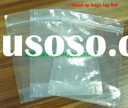 plastic stand up candy packaging zipper pouch
