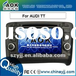 special car audio for AUDI TT with dvd gps navigation system bluetooth