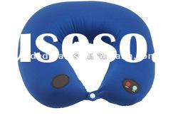 travel neck pillow with vibrating massage funtion