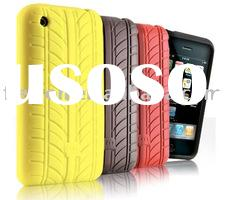 tyre design Silicone Case for iPhone 3G 3GS