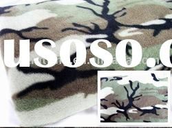 100% polyester Printed camo polar fleece