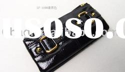 2011 BLACK PATENT LEATHER WOMEN WALLET