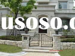 2011 Top-selling hand forged beautiful iron garden gate