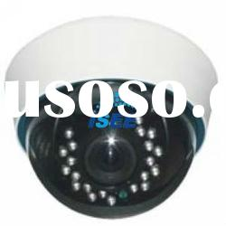 20m IR Distance with 2M Pixels 2.8-12mm Manual Zoom Lens CCTV Plastic Dome Camera