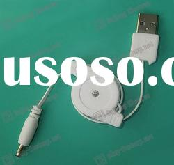 3.5mm ear stereo Ihpone cable,retractable extension cable