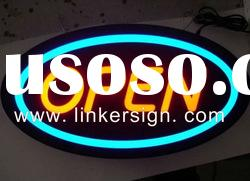 Acrylic LED metal letters