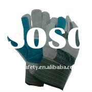 CE Cow Split Leather Reinforced Palm Working Glove/ Work Gloves