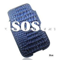 Crocodile Skin Vertical Leather Pouch Case for iPhone 4S /4G/3Gs