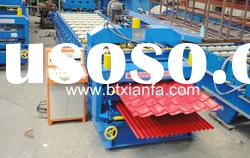 Double-layer Corrugated Steel Tile Roll Forming Machine XF1100-1016