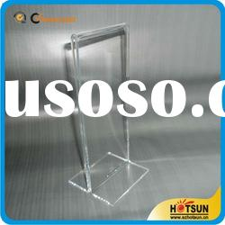 High quality Clear acrylic menu holder