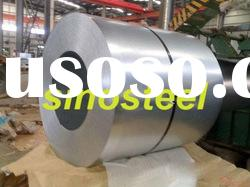 Hot dipped zinc coated steel coil