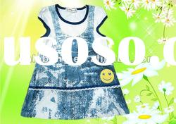 Hot sale!!! 2012 girls western style summer dress
